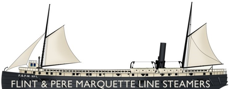 Flint & Pere Marquette Line Steamers
